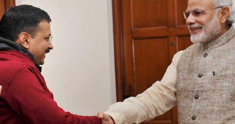 narendra modi follows kejriwal