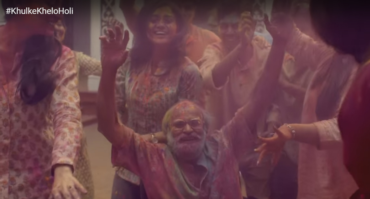 khul ke khelo holi video