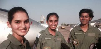 First Indian Women Fighter Pilots