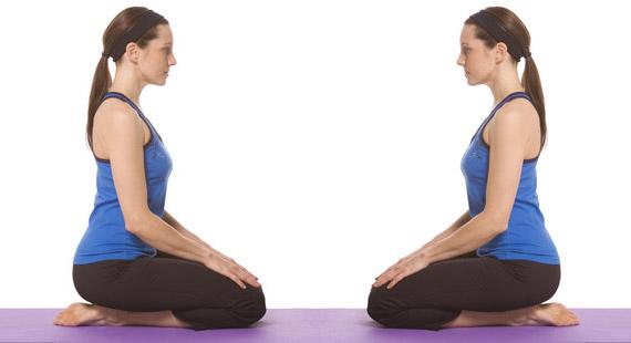 yoga-Vajrasana