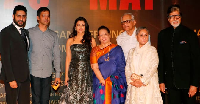 Abhishek embarrassed Aishwarya Rai at the Sarbjit premiere