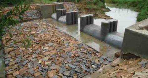 sanjay tidke dam building