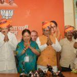 Raje wins Rajasthan, yet again