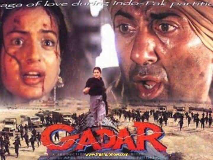 gadar film song pk  free