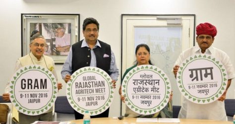 Global Rajasthan AgriTech Meet – Rajasthan set to become Agro-Giant