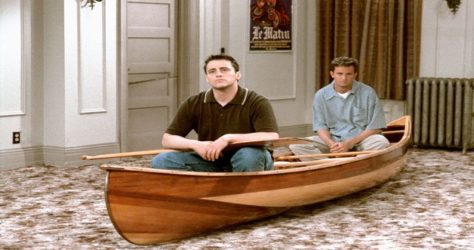 10 moments when Chandler & Joey cracked us up
