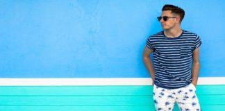 Palm-print-mens-shorts