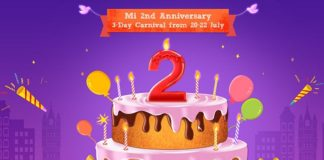 Xiaomi India's Mi 2nd Anniversary Sale is on from 20-22 July