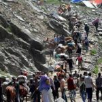 Amarnath Yatra suspended after the death of Hizbul Mujahideen Commander