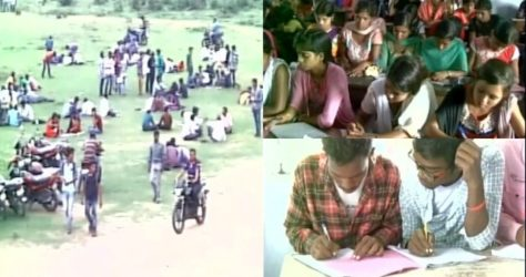 Mass Cheating reported in Jharkhand Colleges