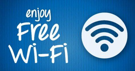 Free Public Wi-Fi hotspots