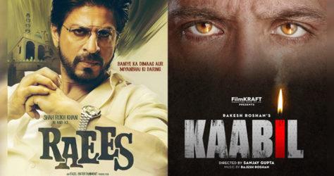 'Kaabil' vs 'Raees'
