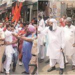 Communal Clash between Shiv Sena and Muslim group in Phagwara