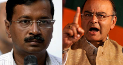 war of kejriwal and jaitley