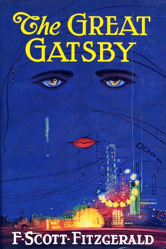 4. THE GREAT GATSBY by F. Scott Fitzgerald