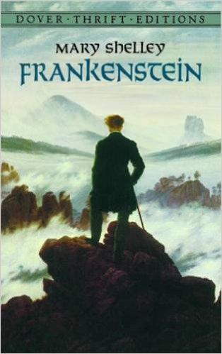 8.FRANKENSTEIN by Mary Shelley