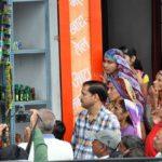 CM Vasundhara Raje on an evaluation tour of Rajasthan