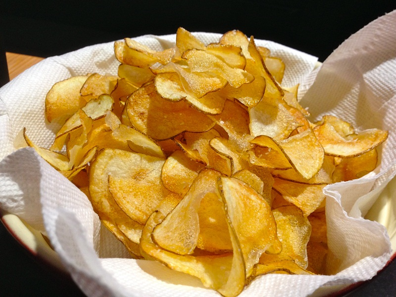 Fried Potato Chips - best snacks to beat the hunge