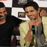 Sidharth Malhotra joins the league of actors supporting and promoting Akshay Kumar's Rustom