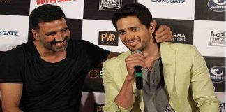 Sidharth Malhotra joins Akshay Kumar to Promoting Rustom Movie