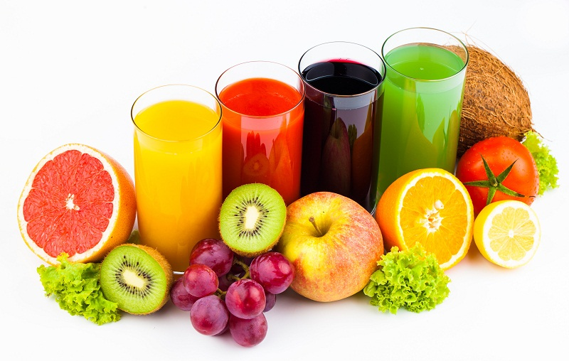 juices - best snacks to beat the hunge