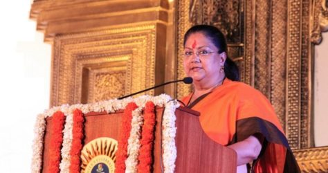 infrastructure Projects - CM Vasundhara Raje