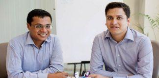 Binny Bansal and Sachin Bansal