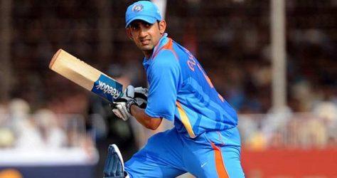 Gautam Gambhir in indian team