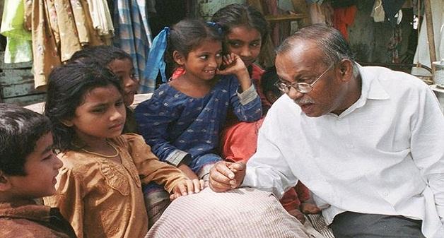 Jockin Arputham slum dweller