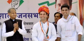 congress in rajasthan