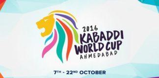 kabaddi world cup 2016 logo