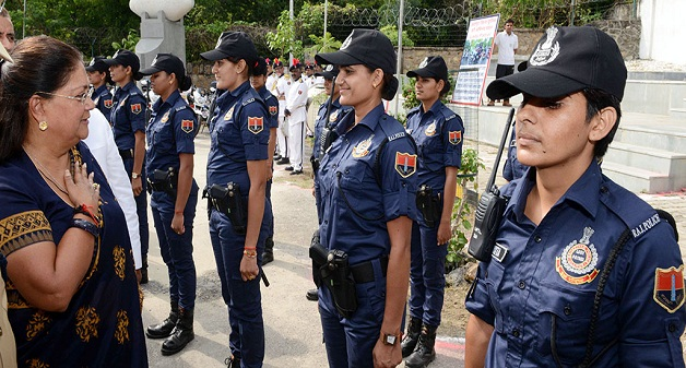CM Lady Patrol Team in rajasthan