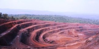 Limestone mines in Rajasthan