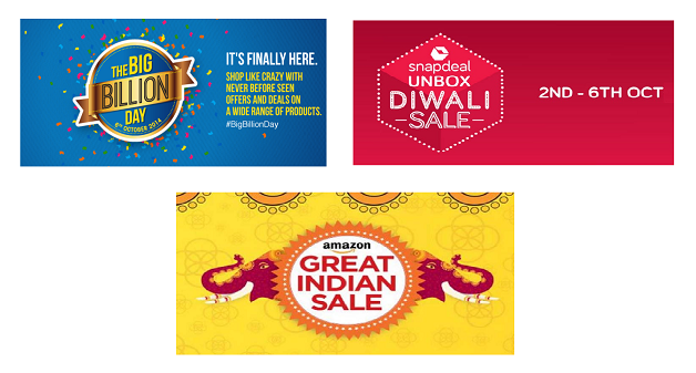 big billion sale festive Diwali Sale