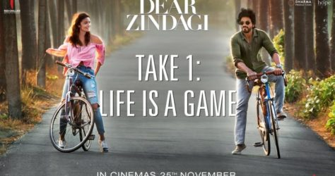 Dear Zindagi - Alia Bhatt, Shah Ruk Khan