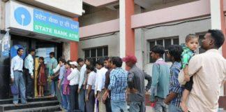 Demonetisation Long Queue on ATM