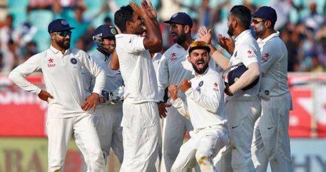 Cricket - India v England - Second Test cricket match