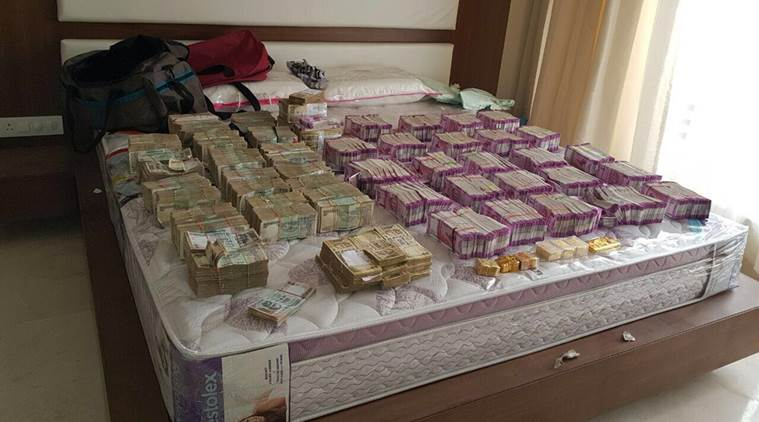 Biggest Seizure After Demonetisation- IT Department Recovered New Currency Notes Worth Rs. 4.7 Crore