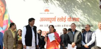 Rajasthan CM Vasundhara Raje launched her populist Annapurna Rasoi Yojana this Thursday. Somewhat akin to late Jayalalithaa's 'Amma Canteens', these 'rasois' will serve quality breakfast, lunch and dinner at subsidised rates.