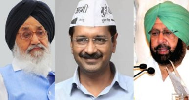 2017 Punjab state assembly elections: It's Badal Vs. Kejriwal Vs. Singh this time.