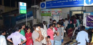 Due to demonetisation, this week, the authorities are expecting big rush at bank branches.