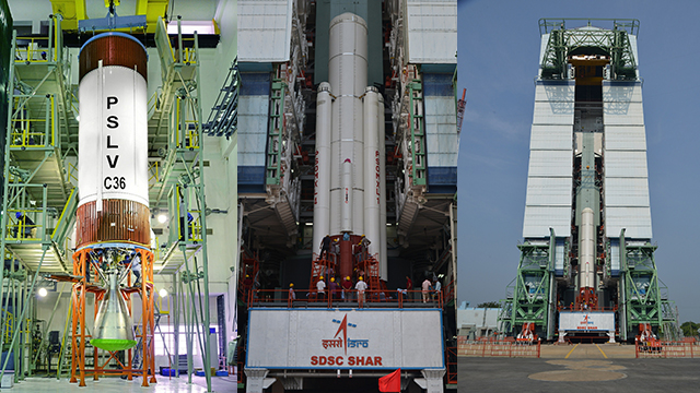 ISRO's 38th Polar Satellite Launch Vehicle PSLV-C36 took its Flight from Sriharikota at 10:25 am today