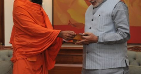 Ramdev Reached 5 Banks To Make Patanjali Stores Digitalised To Support Cashless Economy