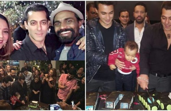 Salman Khan celebrated his 51st birthday bash at his Panvel farmhouse.