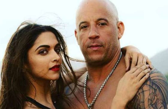 Dhol and Tilak for Vin Diesel who lands in Mumbai with Deepika Padukone to promote xXx: The Return of Xander age.