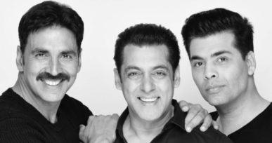 Salman Khan, Akshay Kumar, Karan Johar join hands for a super flick, power of a stellar trio