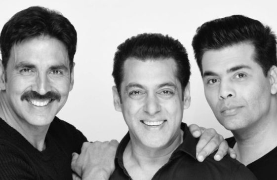 Salman Khan, Akshay Kumar, Karan Johar join hands for a super flick, power of a stellar trio