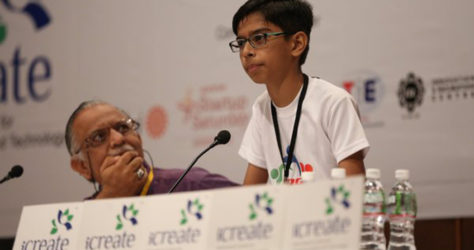 This 14 Year Old Signed Rs. 5 Crore MOU With Gujarat Govt. For Inventing Mine Defusing Drones