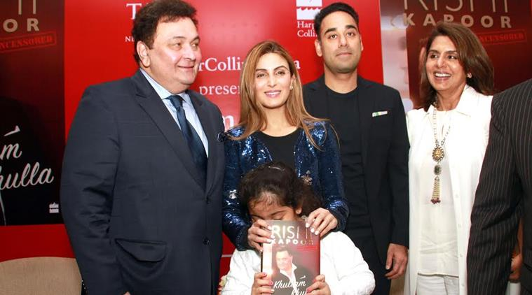 "Rishi Kapoor's Book ""Khullam khula"" Launch Event Was More About His Personal And Raw Revelations"