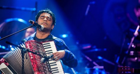 Music Prodigy A R Rahman at his best,